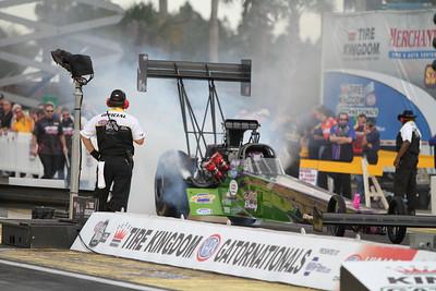 Top Fuel Dragster Burnouts