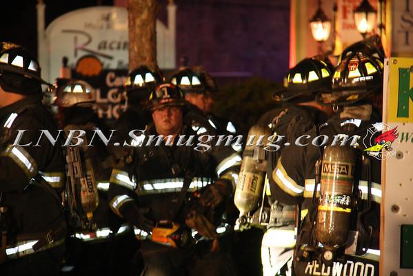 Islip F.D. Laundromat Fire 353 W. Main St 2-13-12