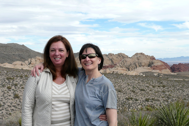 Best Friends. High Point Overlook, Red Rock Canyon