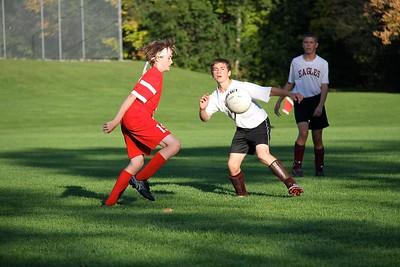 AMHS M.S. Boys Soccer vs LTS photos by Gary Baker