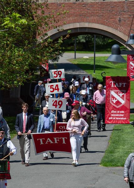 5/11/19: Alumni Parade