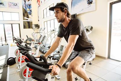 Ryan Wachendorfer working out
