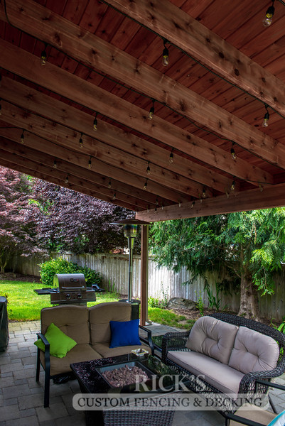 5101 - Wood-Framed Patio Cover