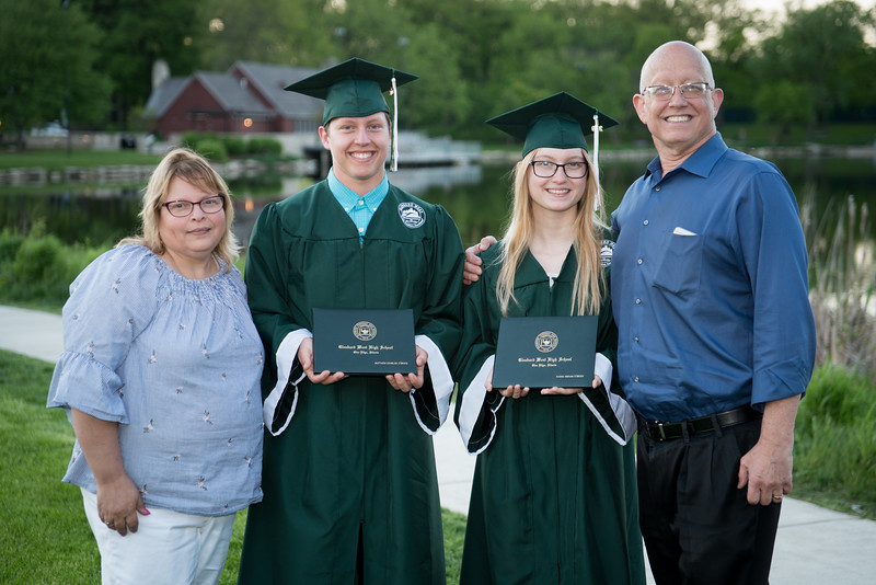 Hanna and Matthew's HS graduation - 2019