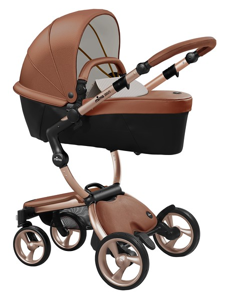 Mima_Xari_Product_Shot_Camel_Flair_Rose_Gold_Chassis_Sandy_Beige_Carrycot.jpg