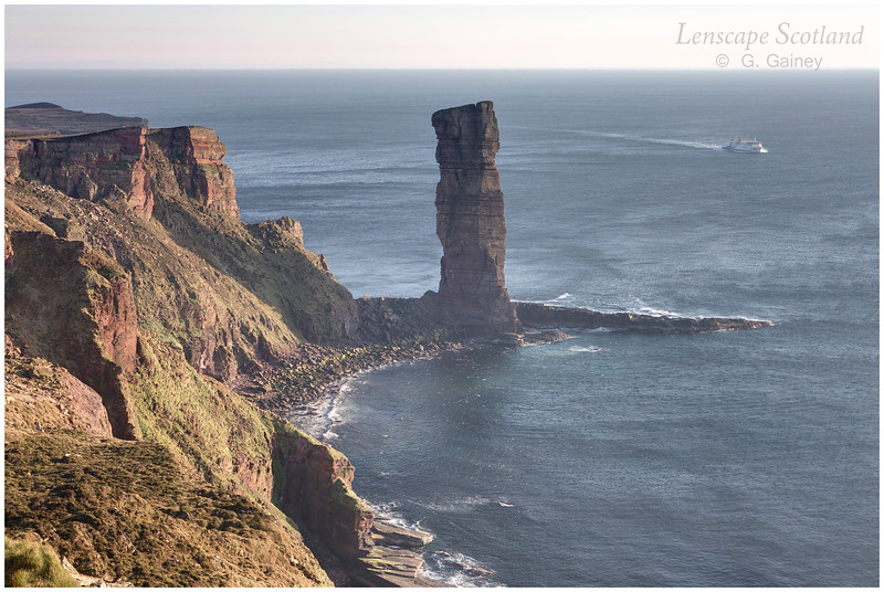 Old Man of Hoy and Stromness ferry (2)