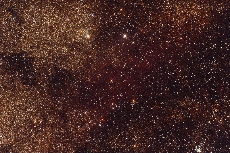 Gum77a - Nebula in Sagittarius - 24/9/2014 (Processed single test image)