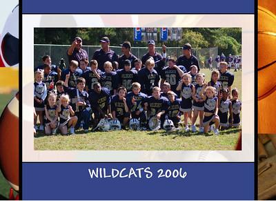 WildCats Football 2006 7 & 8