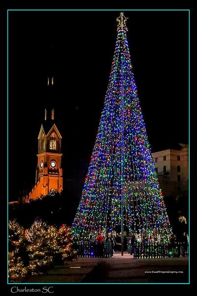CHRISTMAS AT MARION SQUARE | HISTORIC CHARLESTON SC