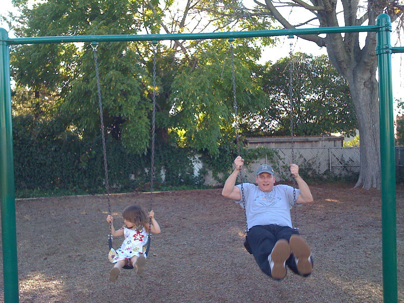 Swinging with Dad