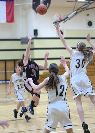 01/08/2010 BHS Girls JV Basketball - Butler @ Providence