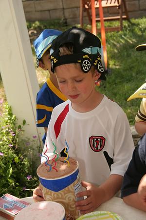 Henry's Car Birthday Party 2008