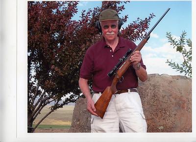 My rifles, shotguns