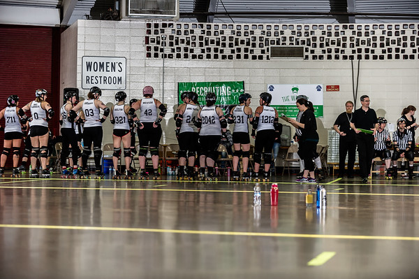 Ohio Roller Derby Gang Green vs. Tri-City Plan B