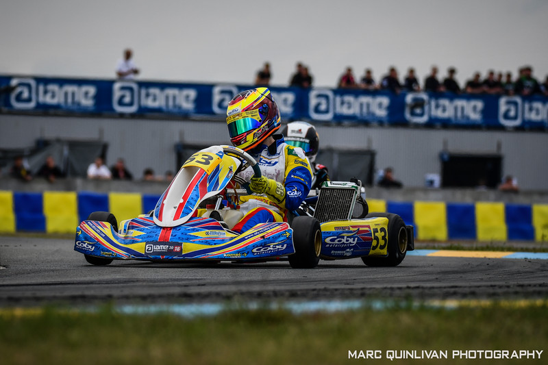IAME International Final 2018 - Day 6 (11/10) - Alyx Coby