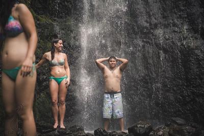 Waterfall and Ichiriki