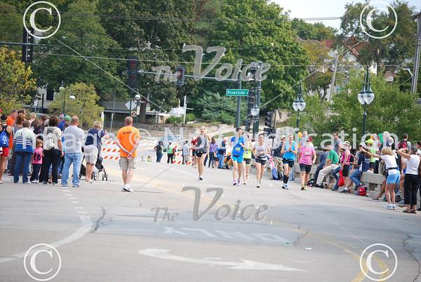 2012 Fox Valley Marathon along the Fox River through St. Charles, Geneva, Batavia, North Aurora, and Aurora in Kane County, IL 9-16-12