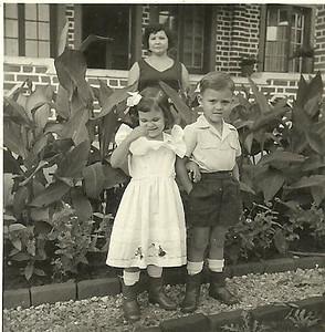 D. Bina Alfredo Pereira e filhos Bina e Mario