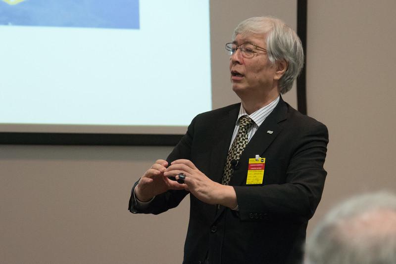 Hideyo Kunieda (Nagoya Univ.) -- NASA/GSFC Career Celebration for John Mather (40 years), Floyd Stecker (50 years), and Peter Serlemitsos (55 years), Greenbelt, Nov 17, 2016.