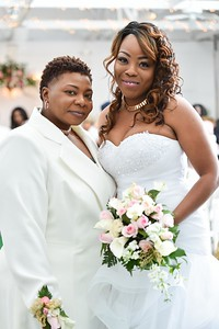 Tonja and Geniece Say I Do