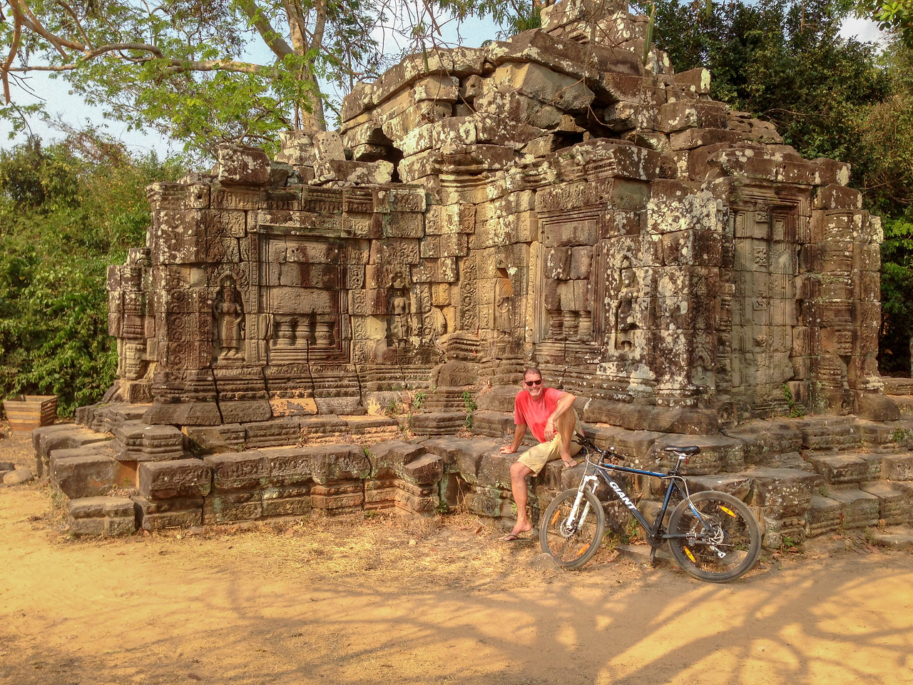 Bicycling Around Angkor Wat