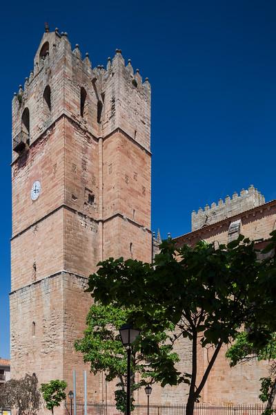 Torre de las Campanas (Bells Tower), Sigüenza Cathedral, province of Guadalajara, Spain