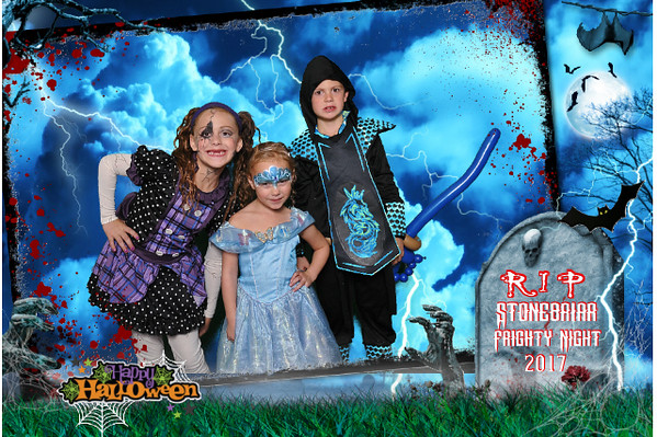 Stonebriar Country Club Halloween Greenscreen Photos