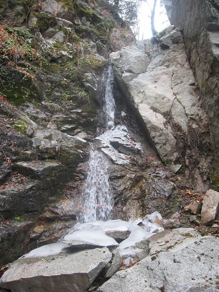 Santa Ana River Trail Run from Angeles Oaks  1/1/08