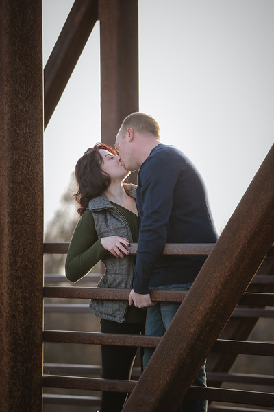 Breanne and Rich {Boise River Engagement}