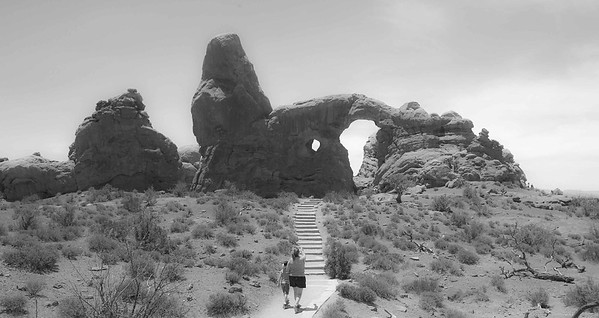 Arches National Park and Moab, Utah, 2007