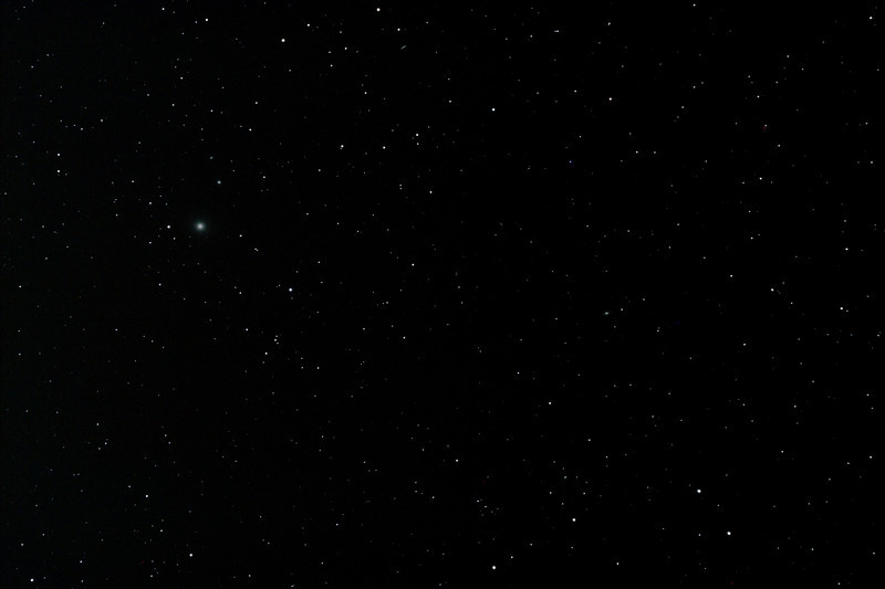 A section of the Virgo Galaxy Cluster centred near M87 Virgo A Galaxy - 25/04/2012 (Processed stack)