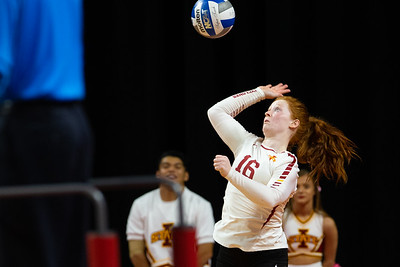Oklahoma at Iowa State NCAA Volleyball 10/3/2018