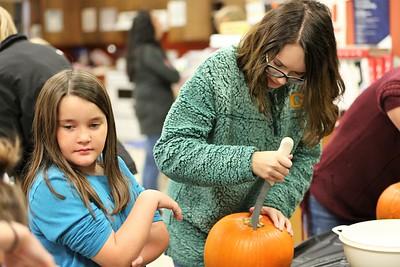 3rd Grade Pumpkin Carving