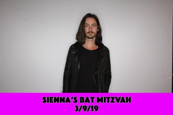 Sienna's Bat Mitzvah