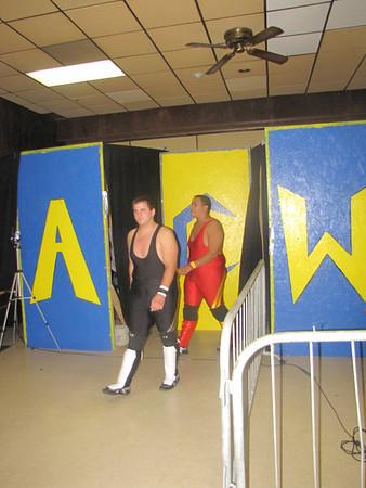 "ACW Tag Team Championship  ACW Tag Team Champions Destruction Under Impact (ACW Tag Team Champions ""Riot"" Kellan Thomas & ""Impact"" William Thorne) vs. Enterprise (Chris & Shay)"