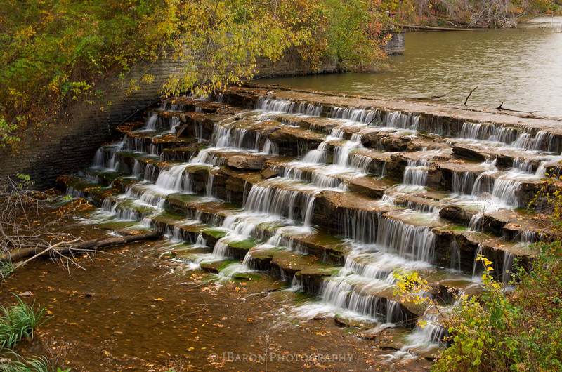 North Park Waterfall in October