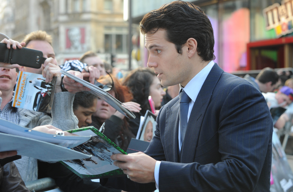 ". Actor Henry Cavall attends the ""Fast & Furious 6\"" World Premiere at The Empire, Leicester Square on May 7, 2013 in London, England.  (Photo by Stuart C. Wilson/Getty Images for Universal Pictures)"