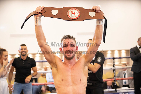 Kyle Williams vs Thomas Essomba - English Bantamweight Title