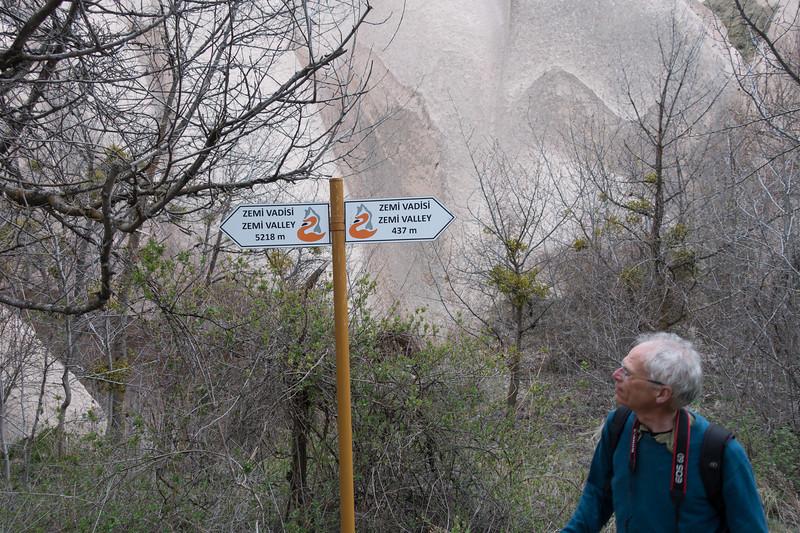 cappadocië, göreme, zemi valley