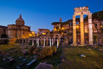 Roman Forum sunrise