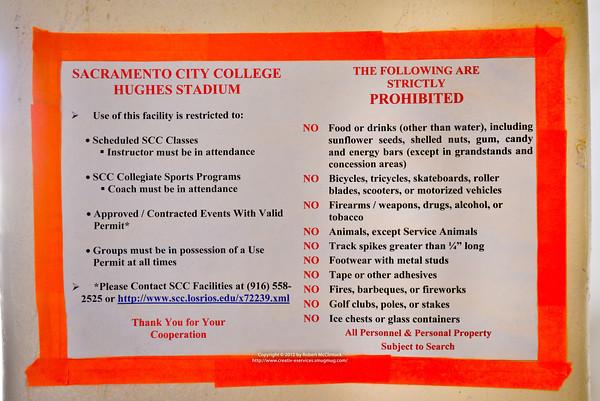 Merced College Pregame -- 10/06/12