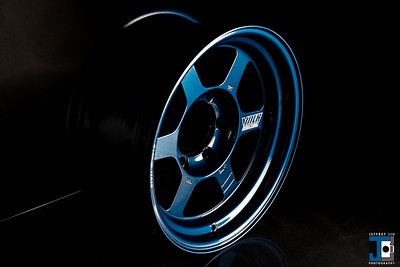 RAYS Volk Racing TE37x 16x8 +0 Mag Blue Ravspec