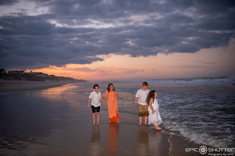 Outer Banks Family Portraits, Corolla, North Carolina, Family Portraits, Outer Banks Photographer, Children's Beach Portraits, Family Photos, OBX Family Vacation, Cape Hatteras Photographer