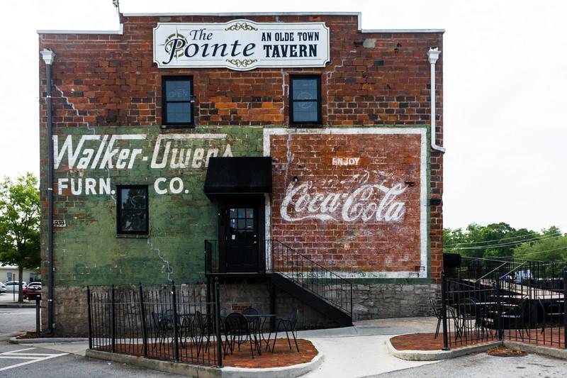GA, Conyers - Coca-Cola Wall Sign 02