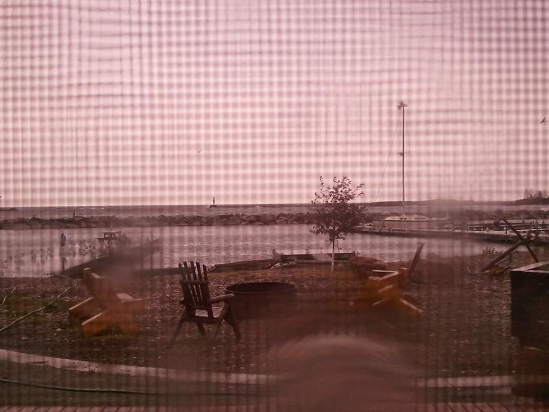 More rain. Good weekend to work inside.
