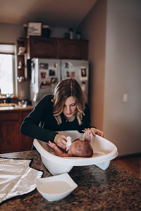 Miles | Sun Prairie Lifestyle Newborn  Photography