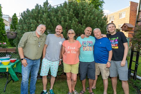 Nicole's birthday celebration with family - June 13, 2020