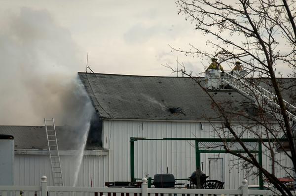 North Aurora Box Alarm - Jan. 9, 2012