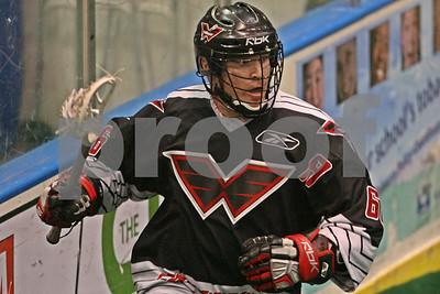 3/29/2008 - Philadelphia Wings vs Rochester Knighthawks - Blue Cross Arena - Rochester, NY