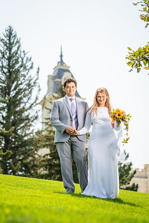 Alauna + Dylan Manti Utah Temple